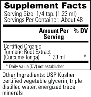Turmeric Supplement Facts