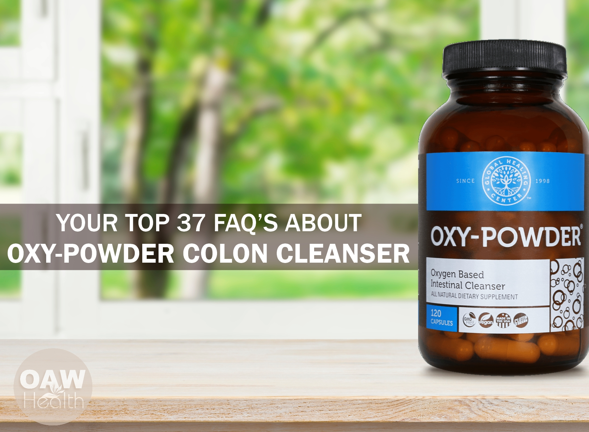 Your Top 37 FAQs about Oxy-Powder Colon Cleanser