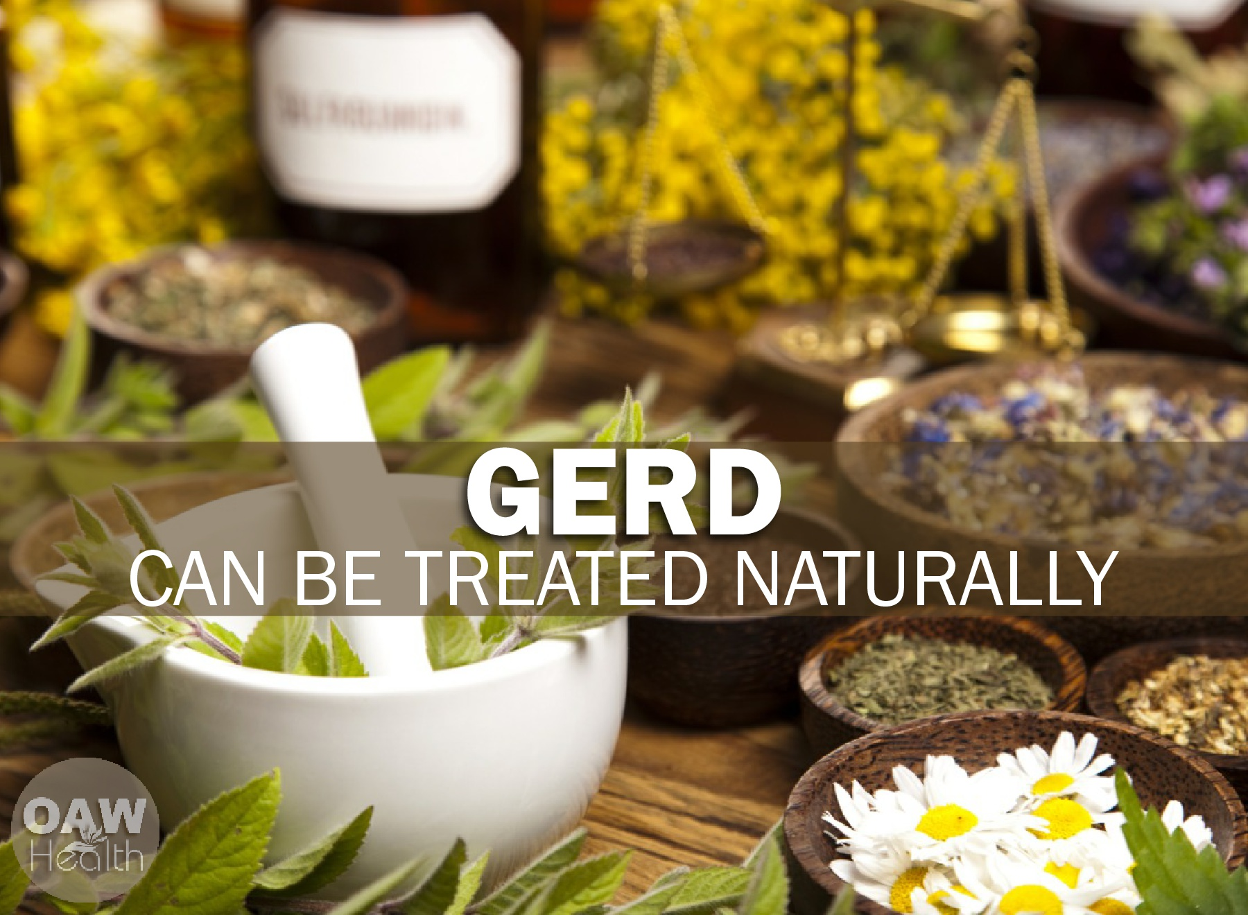 GERD Can Be Treated Naturally