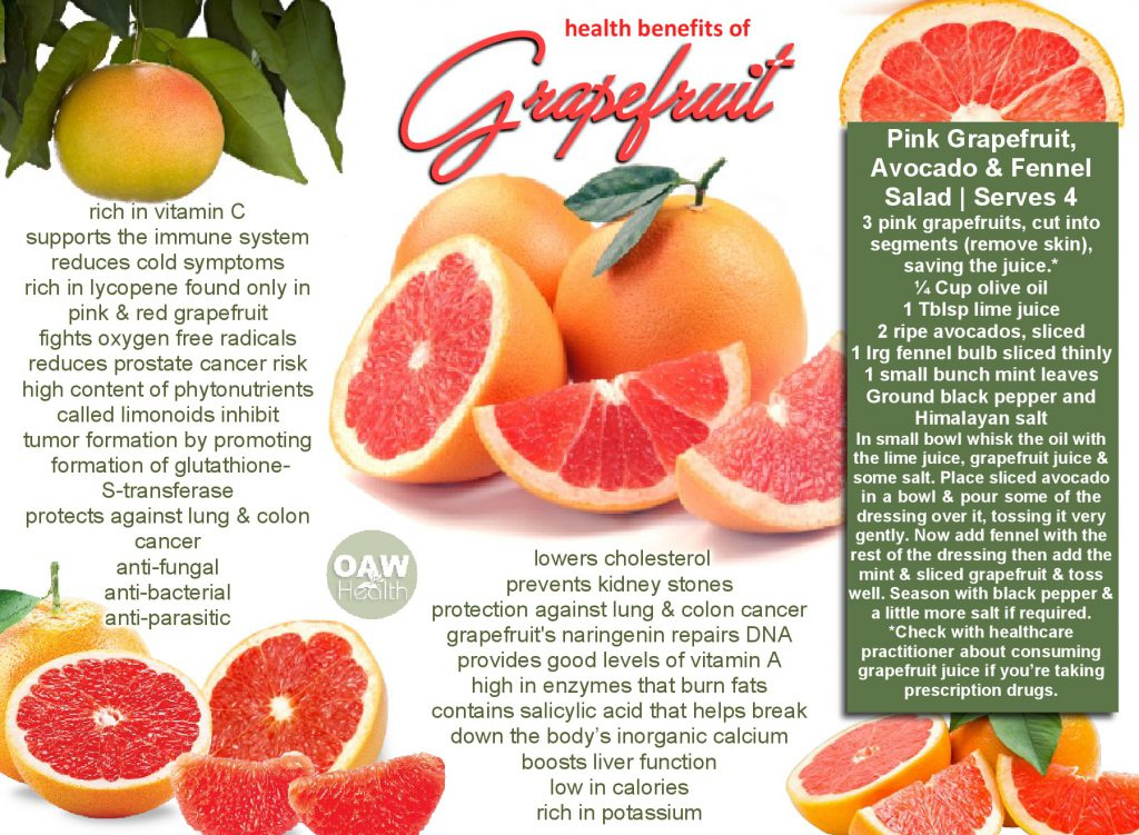 reasons to eat grapefruit