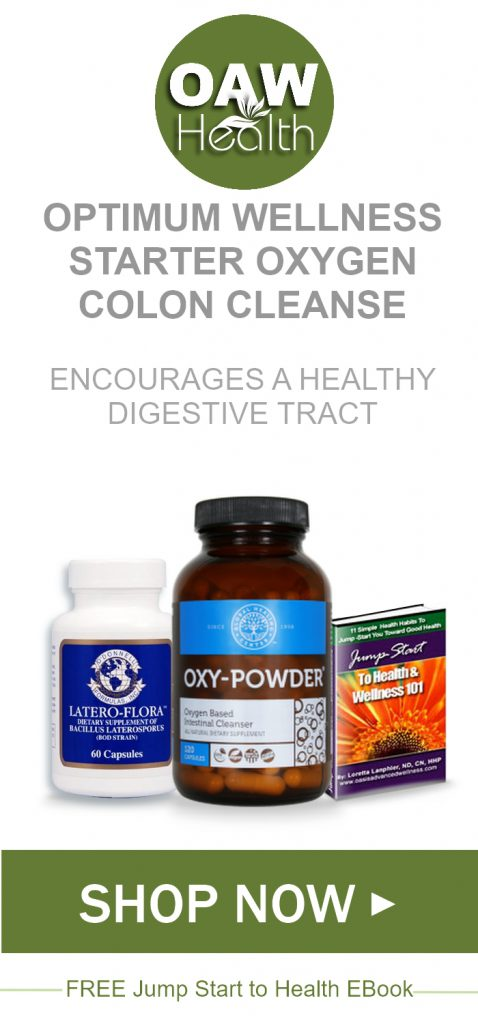 Optimum Wellness Starter Oxygen Colon Cleanse Kit