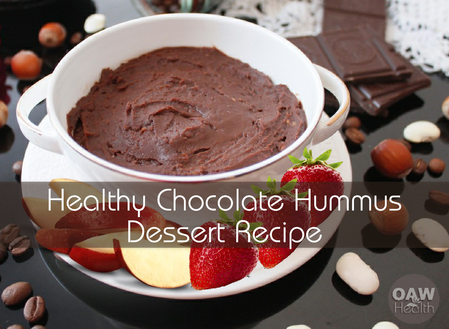 Healthy Chocolate Hummus Dessert Recipe