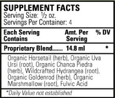 renaltrex - supplement facts