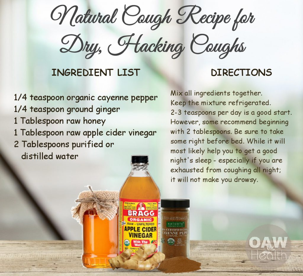 Natural Cough Recipe for Dry, Hacking Coughs