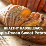 healthy hasselback sweet potatoes