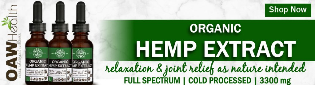 Organic Full-Spectrum Hemp Extract
