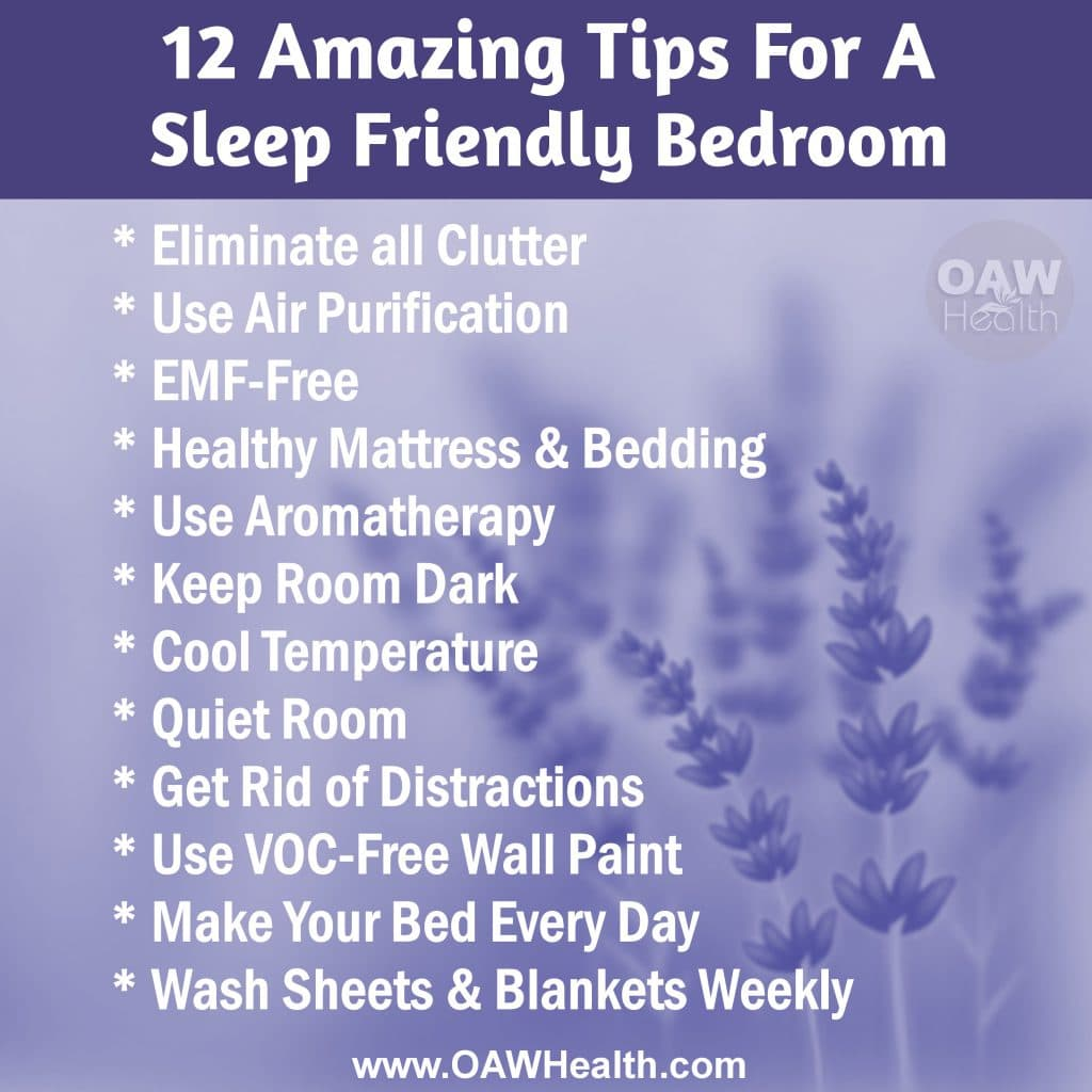 Sleep Friendly Bedroom