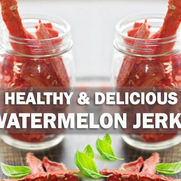 Healthy and Delicious Watermelon Jerky
